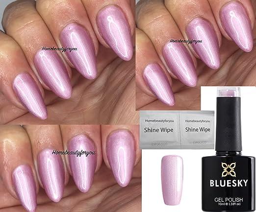 BLUESKY Gel Nail Polish, Tulip Lover, SS2008, Coral, 10ml