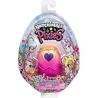 HATCHIMALS Pixies Coleccionables 1 Figura ¡Descubre Que Color de Huevo te tocara Rosa, Azul o Morado! Toy