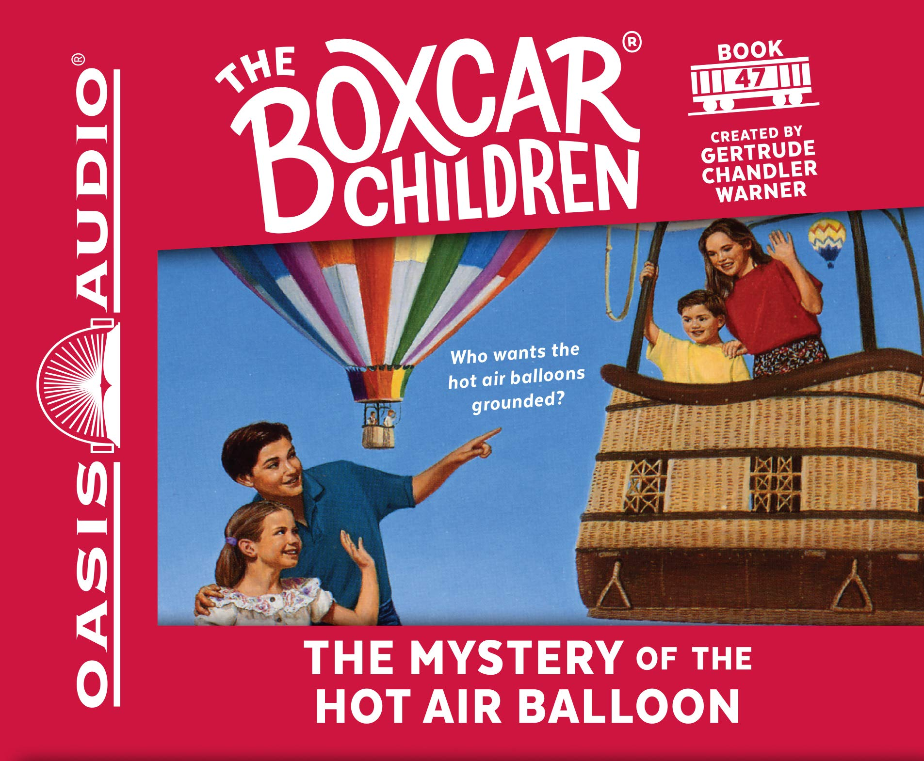 The Mystery of the Hot Air Balloon (The Boxcar Children Mysteries)