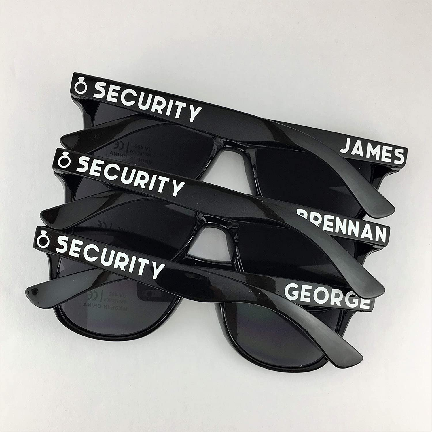 Ring Security Personalized Sunglasses Kids Size