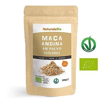 Maca Andina Ecológica en Polvo [ Gelatinizada ] 200g. Organic Maca ...