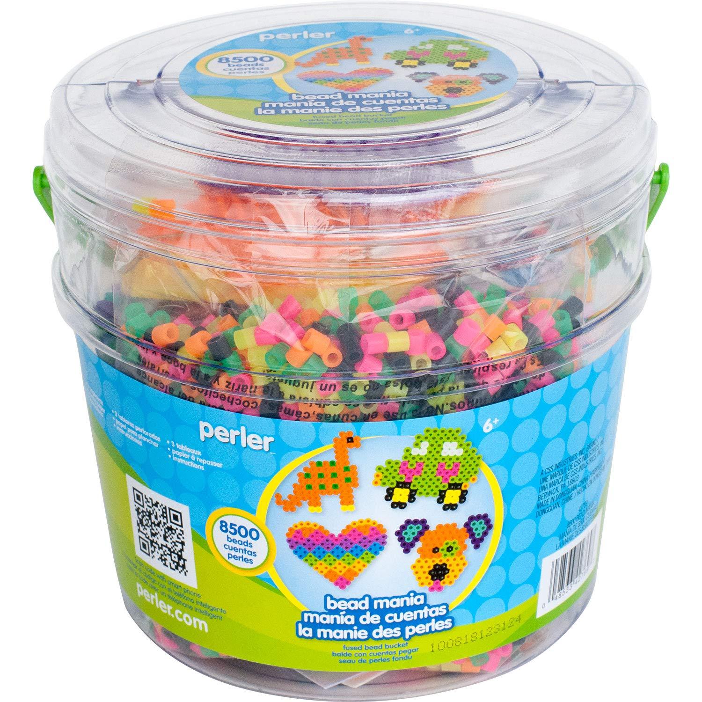 Perler Fuse Hama Beads 8500 Canutillos Mixtos Y Tableros Xsr