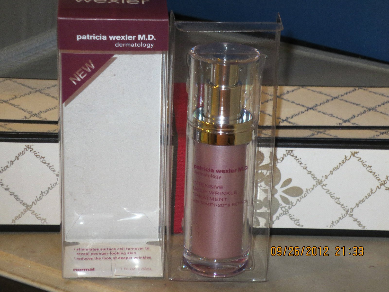 Bath & Body Works Patricia Wexler M.D. Intensive Deep Wrinkle Treatment with MMPi-20 and Retinol 1 fl oz (30 mil)