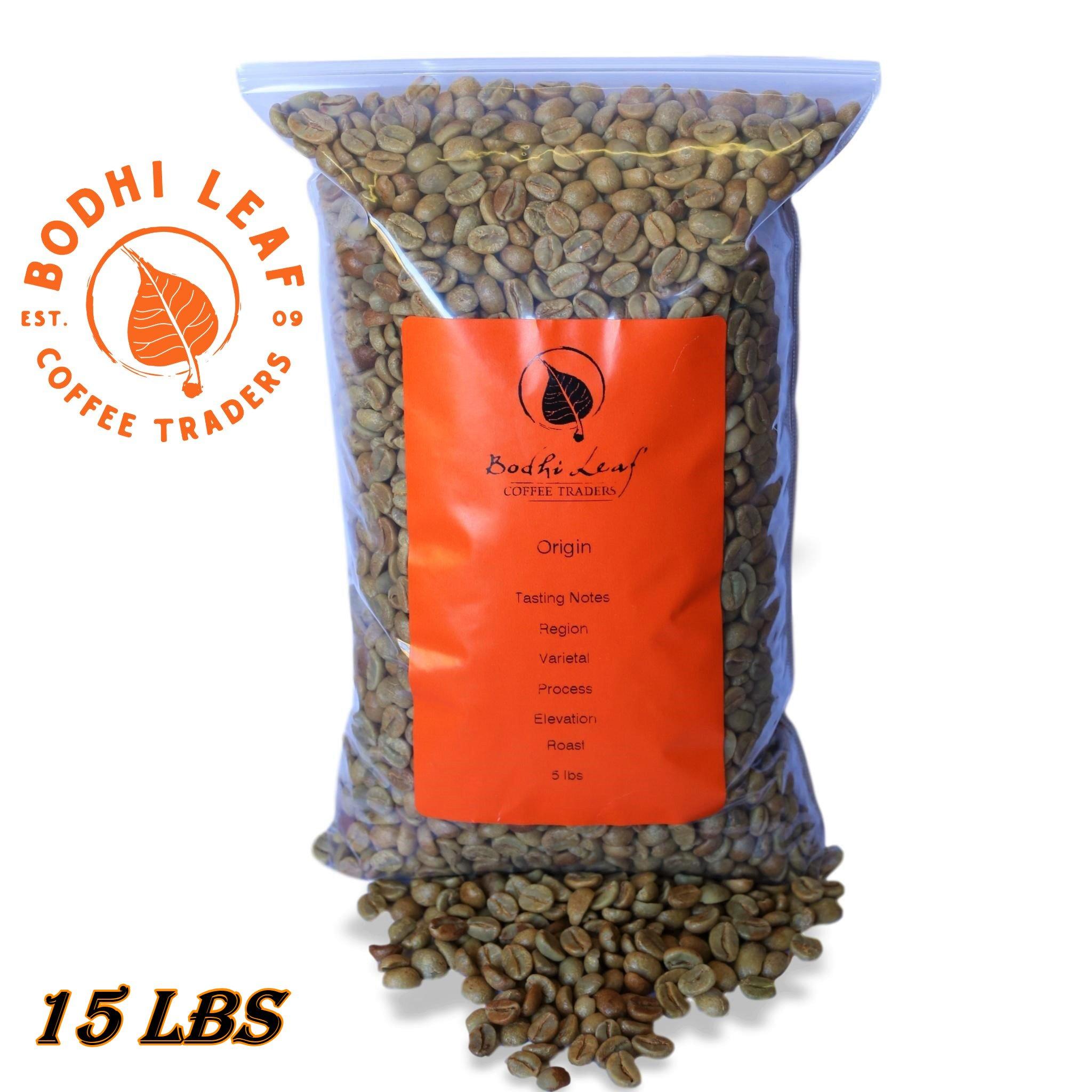 15 LBS Panama Finca Santa Teresa Washed Green Coffee 100% Specialty Arabica Caffeinated Beans
