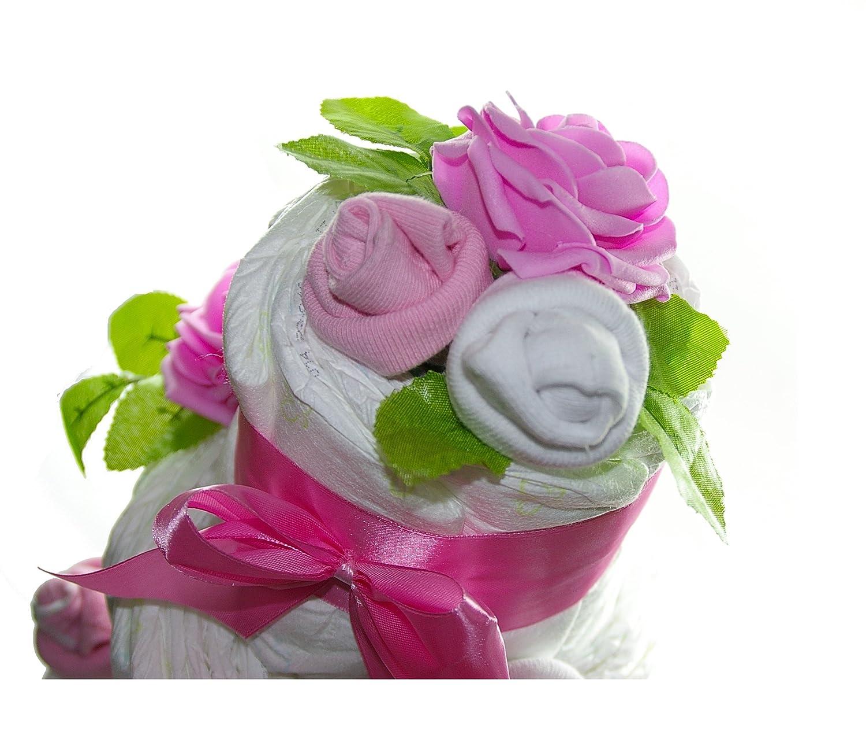 dulce para pa/ñales para tartas by dubistda Rosas colour rosa cocina con forma de cupcake para pa/ñales gran para las ni/ñas de regalo para nacimiento