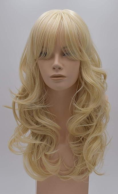 Peluca de Luttmann Elvira, corte por niveles, peluca de calidad en color rubio claro