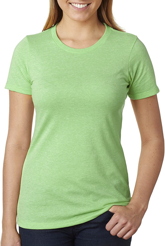 Next Level Ladies CVC T-Shirt - White - XS - (Style # 6610 - Original Label)