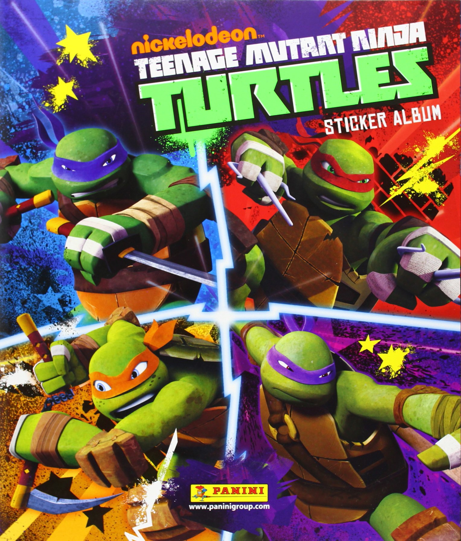 ALBUM TORTUGAS NINJA: 8018190054125: Amazon.com: Books