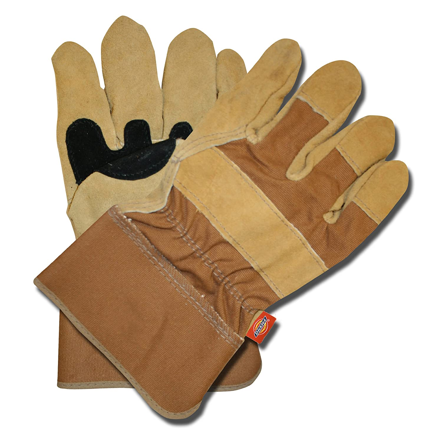 Dickies D73031 Split Cowhide Double Palm Glove