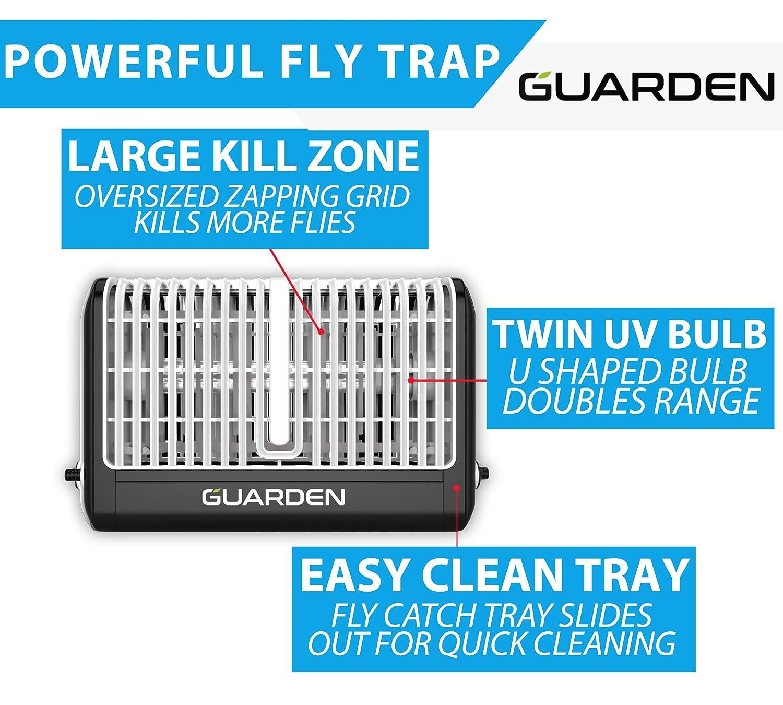 Amazon.com : Guarden Fly Trap Indoor Bug Zapper - Eliminate Flies ...
