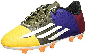 adidas Herren J J Messi Boots-White schwarz blau rot, Größe 5 ... cb07badc43