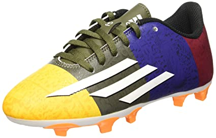 3126af52cd8 Image Unavailable. Image not available for. Color  Adidas Leo Messi F5 FG  Kids Football Boots ...