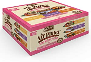 Merrick Lil' Plates Grain Free Small Breed Wet Dog Food (Case of 12)