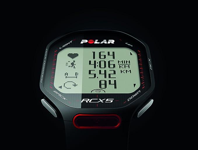 Polar RCX5 Run (Incluye S3+) Pulsómetro, Unisex, Negro, Talla única: Amazon.es: Deportes y aire libre