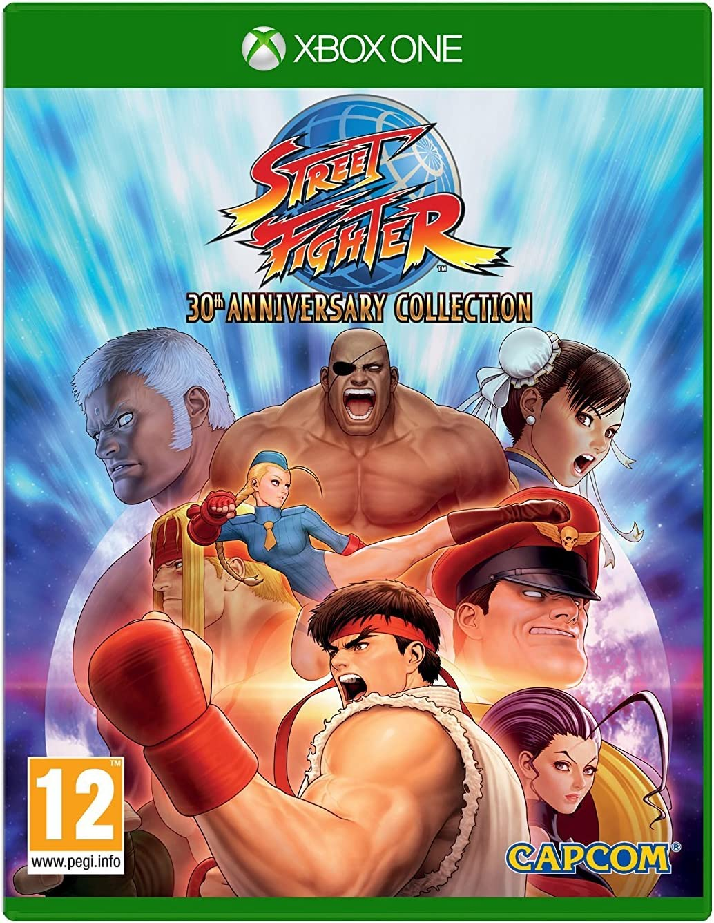 Amazon.com: Street Fighter 30th Anniversary Collection (Xbox One): Video Games