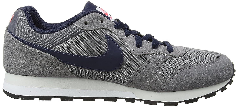 Mens Md Runner 2 Trainers, Grey (Gunsmoke/Obsidian/Hot Punch/Vast Gray 007), 12 47.5 EU Nike