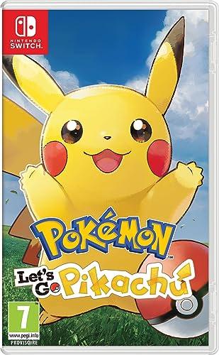 Pokémon : Lets Go, Pikachu - Nintendo Switch [Importación francesa]: Amazon.es: Videojuegos