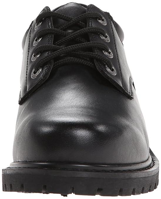 Skechers Hombres Relajados Alces Álamo Fit® Zapatos De Trabajo Antideslizantes p3WcS2g