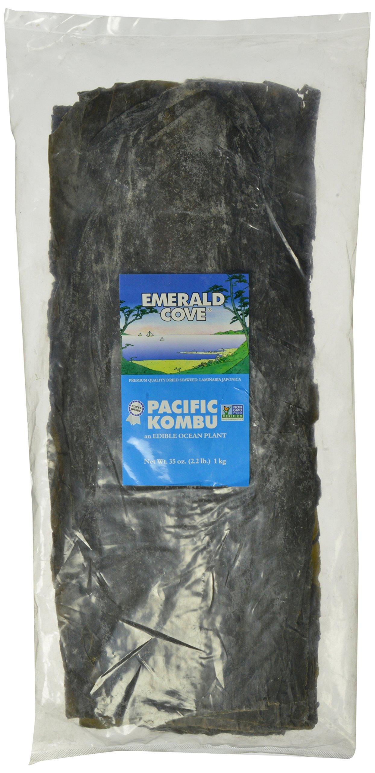 Emerald Cove Silver Grade Kombu (Dried Seaweed), 35-Ounce Bag