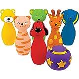 K's Kids DARP-KA10366 Colourful Bowling Friends, Multi-Color, Medium