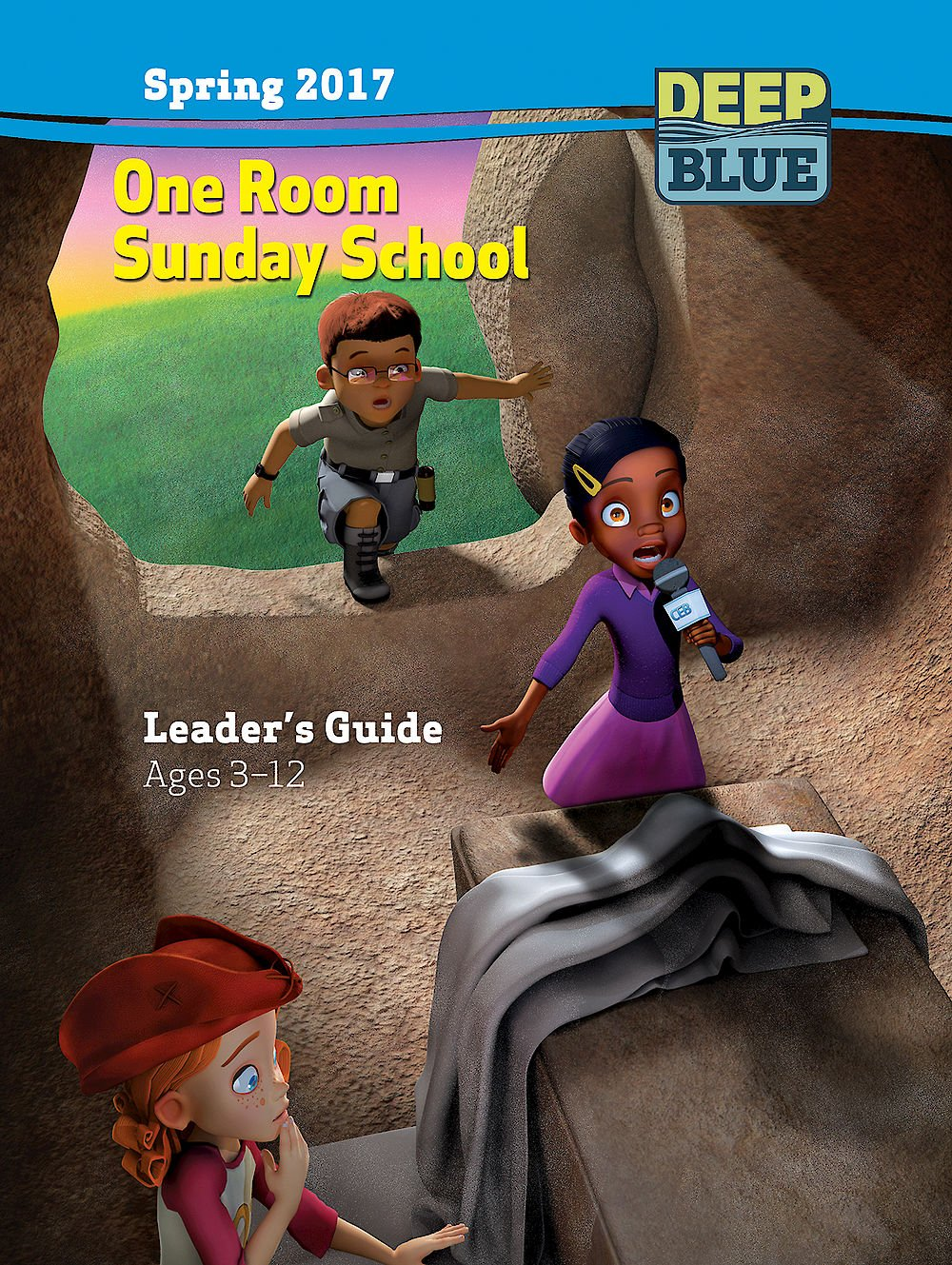 Read Online Deep Blue One Room Sunday School Leader's Guide Spring 2017: Ages 3-12 PDF