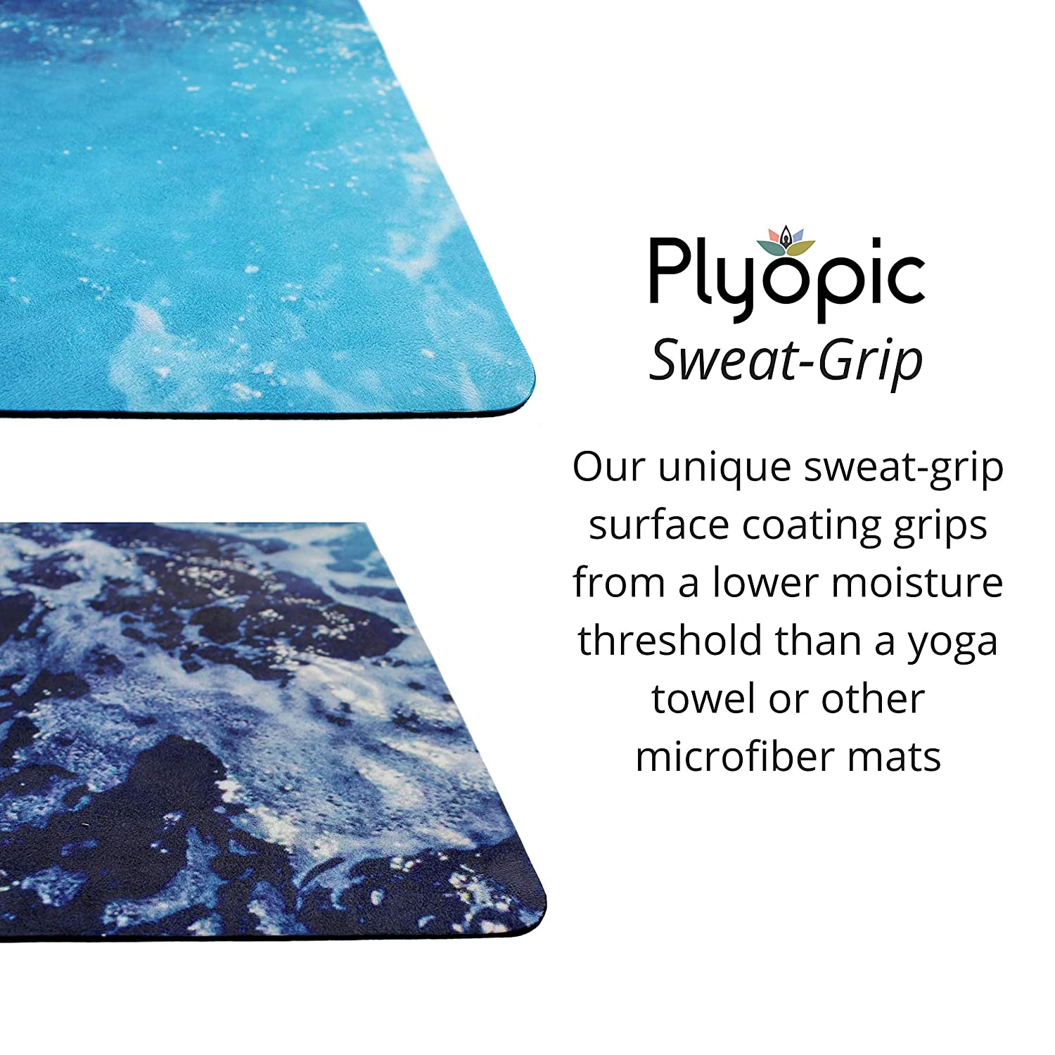 Mats for hot yoga need easy cleaning