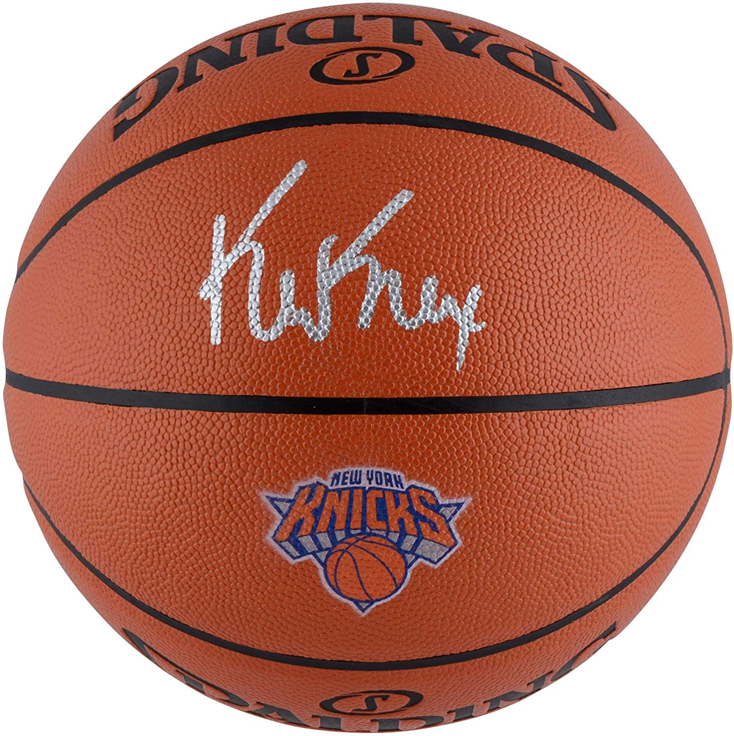 Fanatics Authentic Certified Kevin Knox New York Knicks Autographed Spalding Logo Basketball Autographed Basketballs