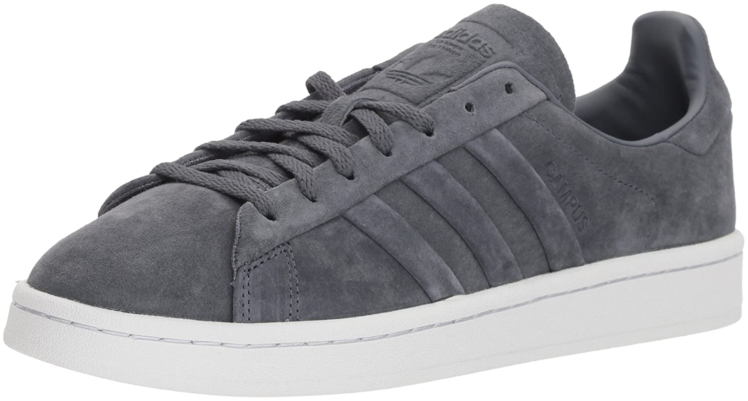 adidas Women's Gray Campus Stitch And Turn Sneakers at