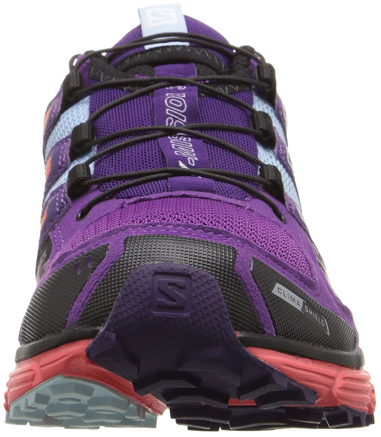 c7e46f008c5a ... Salomon Women s X-Mission 3 CS W Trail Running Shoe Purple Coral  B017SRY4HM 5 ...