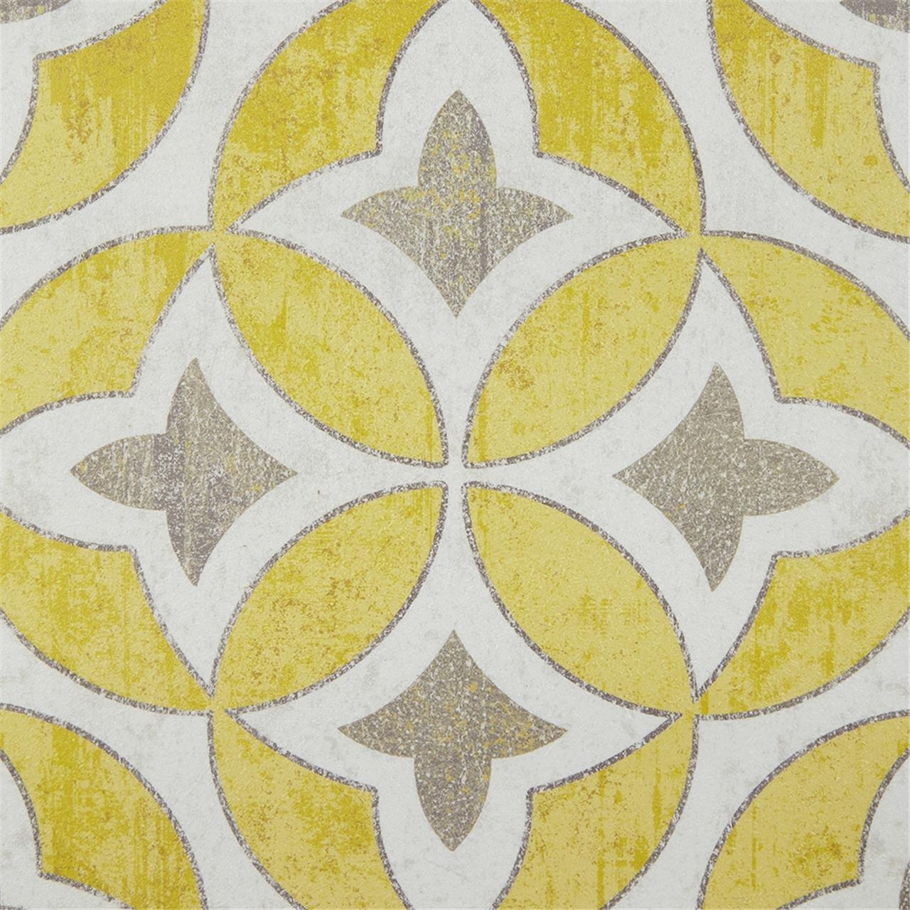 Amazon.com: Madison Park Tuscan Tiles Framed Grey White Canvas Wall ...