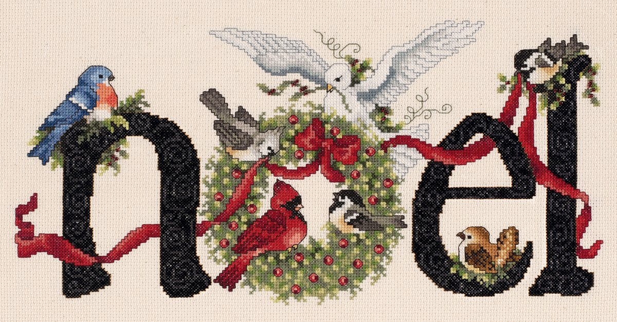 Noel Counted Cross Stitch Kit-14.25X7 14 Count Janlynn 27095181
