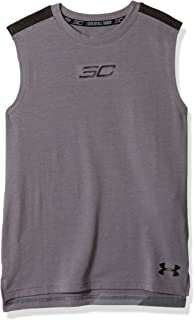 58af5a240f992 Amazon.com  Under Armour Boys Rival Sleeveless Hoodie  Sports   Outdoors