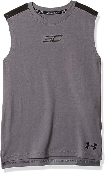 Under Armour Unisex Kids Sc30 Player Short Sleeve T-Shirt