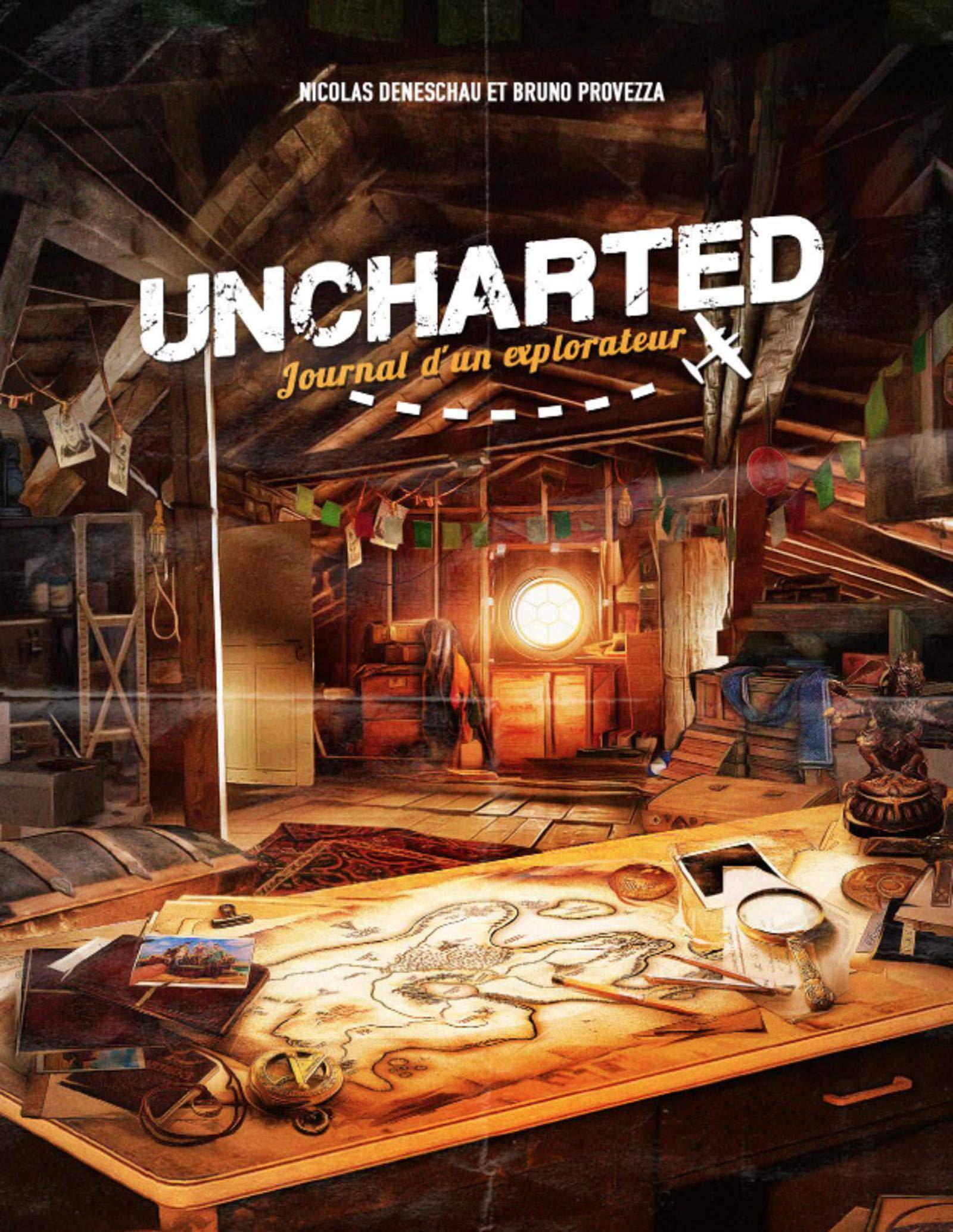 Uncharted - journal dun explorateur (Sagas): Amazon.es: Deneschau, Nicolas, Provezza, Bruno: Libros en idiomas extranjeros