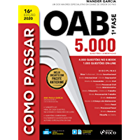 Como Passar Na OAB 5.000 Questões: 5.000 Questões Comentadas - 16ª Ed - 2020
