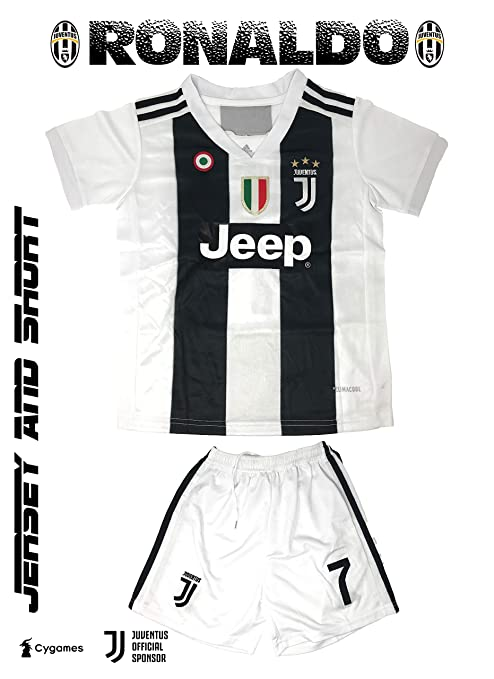 quality design 703c7 1f7c2 Amazon.com : GolPro Juventus Soccer Jersey for Kids ...