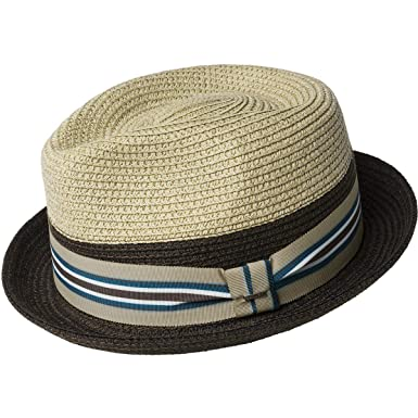 65125820f66e2 Bailey of Hollywood Men s Rokit Braided Fedora Trilby Hat with Stripe Band  at Amazon Men s Clothing store