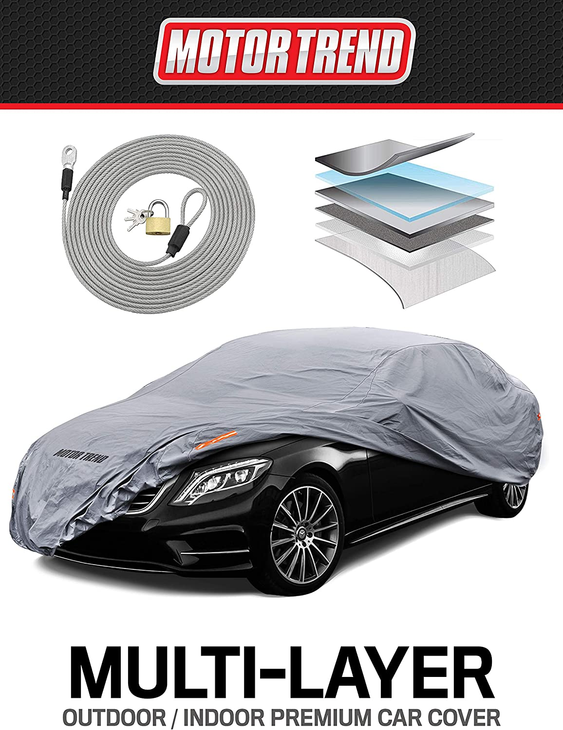 BMW 6 SERIES COUPE PREMIUM HD LUXURY FULLY WATERPROOF CAR COVER COTTON LINED