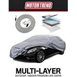 Motor Trend M5-CC-4 Pro Series XL Car Cover (7 Defender Waterproof for All Weather-Snow