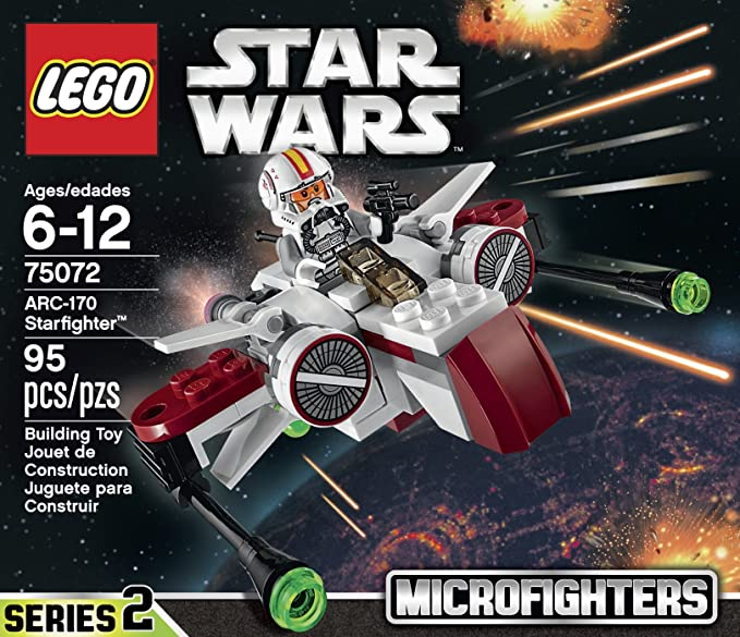 Amazon Lego Star Wars Arc 170 Starfighter Toy Toys Games
