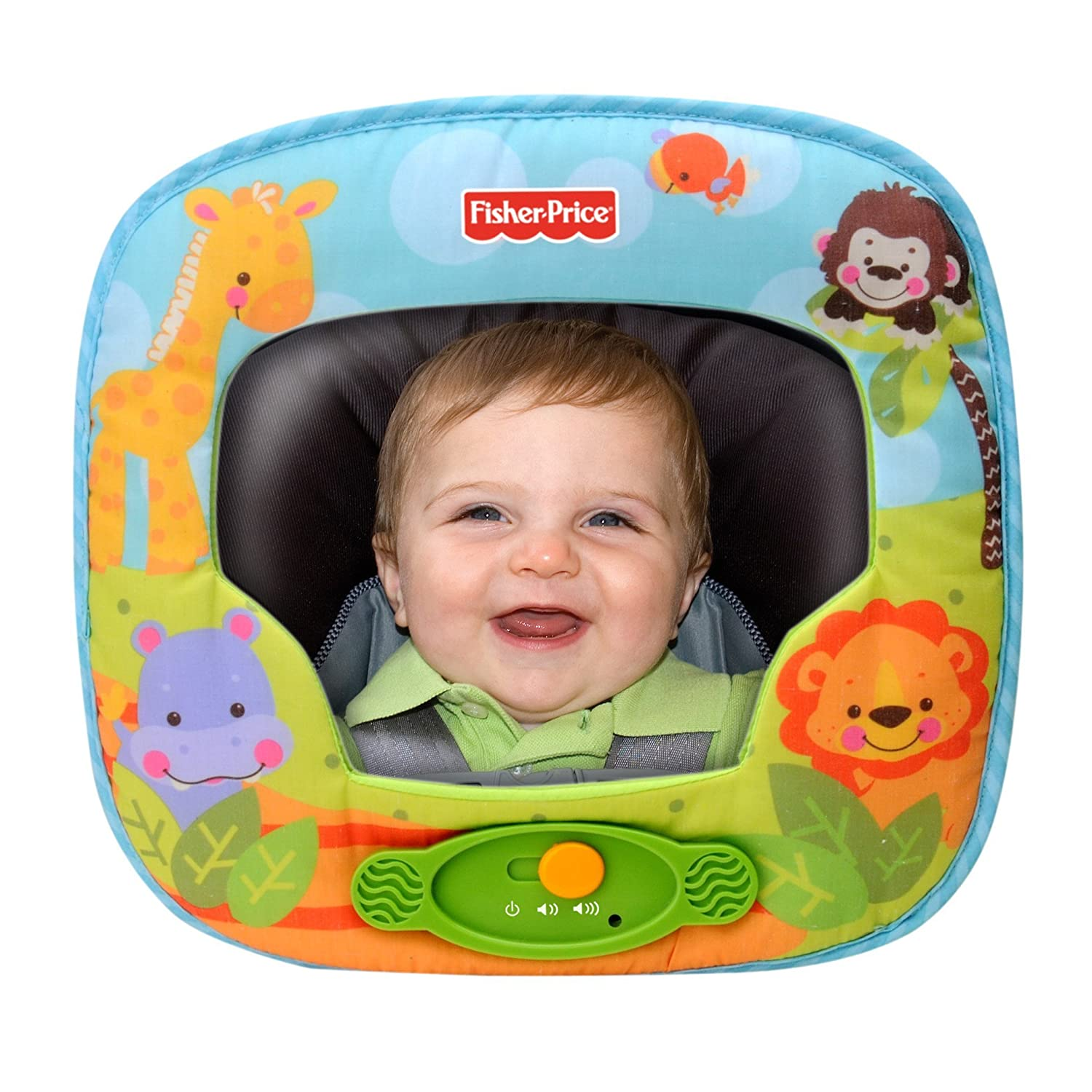 Fisher-Price Precious Planet Deluxe Auto Mirror with Music