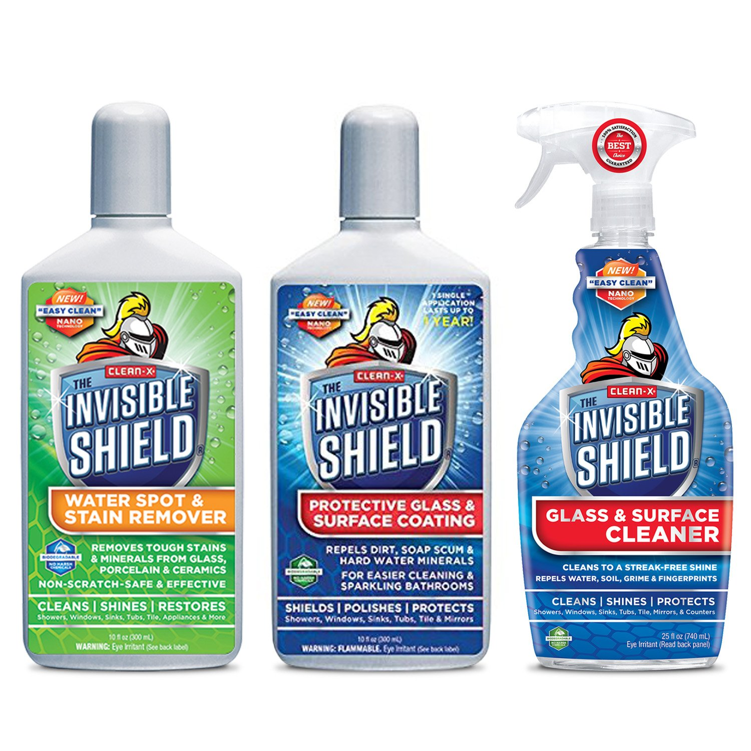 INVISIBLE SHIELD® Glass Essentials 3 Pack Combo Manufacturer Exclusive Offer by Invisible Shield