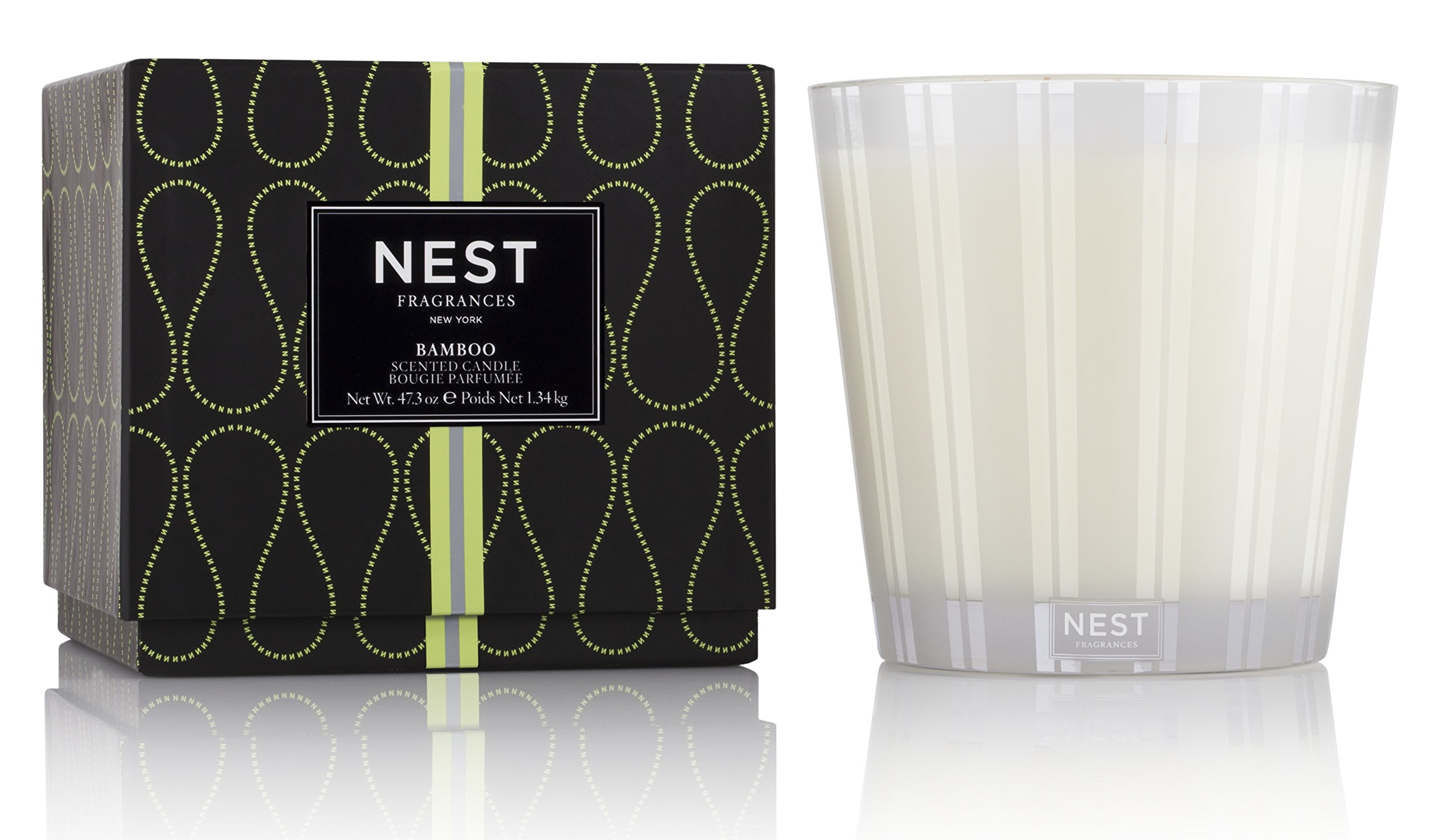 NEST Fragrances Bamboo Luxury Candle, 47.3 oz