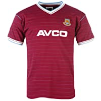 West Ham United Unisex's 1983 Shirt-Multicolour, Medium