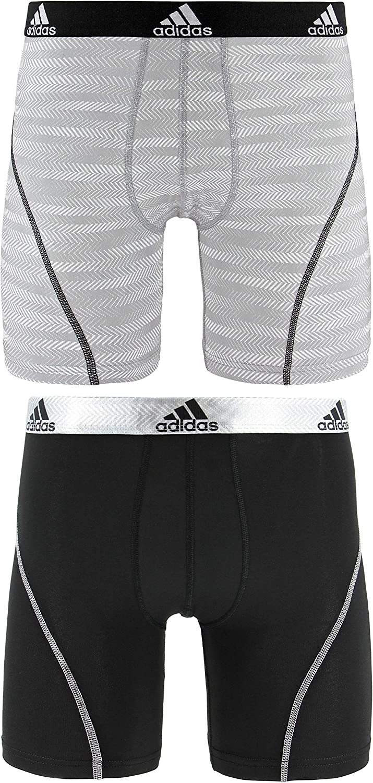 2-pack adidas Mens Sport Performance Midway Underwear