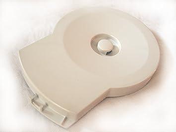 Amazon De Deckel Fur Glas Mixbehalter 1l Fur Braun Kuchenmaschine K
