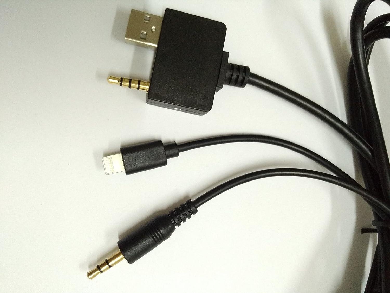 6S 5/5S 5C ou un /éclairage 3,5/mm Shine C/âble USB /à brancher dans une voiture Kia ou Hyundai pour y relier un;Plus 6/6/Plus 6