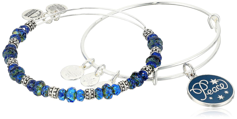 Alex Ani Holiday Peace Bracelet Image 3