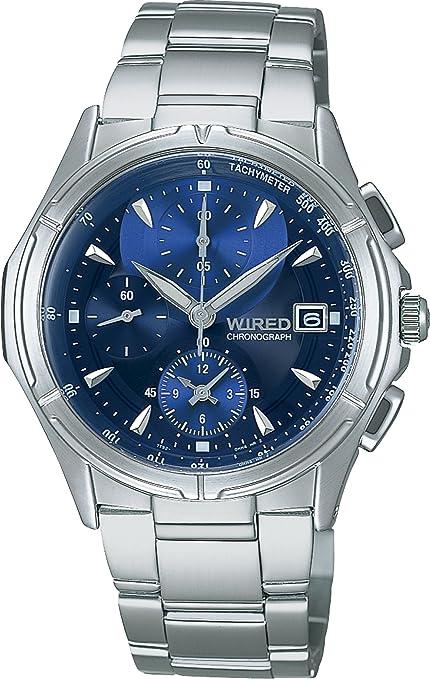 f51227e8d3 Amazon | [ワイアード]WIRED 腕時計 クロノグラフ ステンレスモデル AGBV141 メンズ | セール | 腕時計 通販
