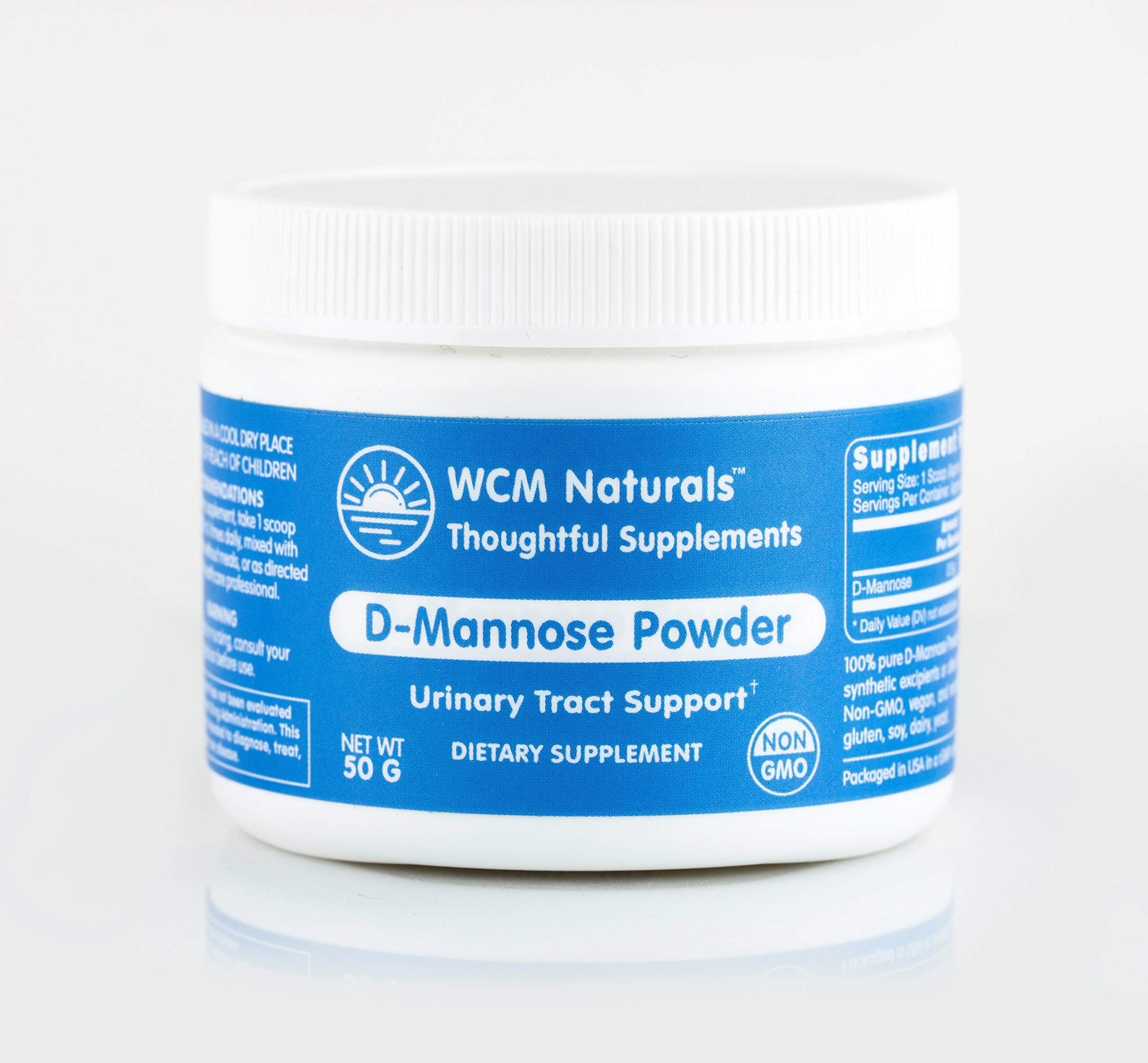 D-Mannose Powder Non-GMO (100 g) by West Coast Mint